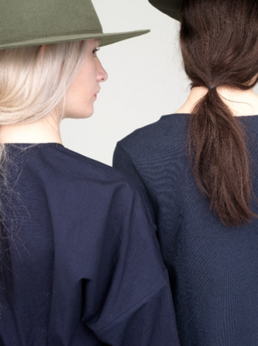 Apiece Apart FW 13 hair and makeup