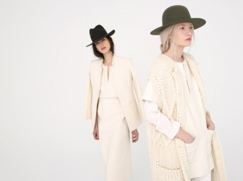 Apiece Apart Fall/Winter 2013 Hair and Makeup by Claudia Lake
