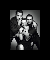 Jeremy Piven, Raul Esparza and Elizabeth Moss for T Magazine